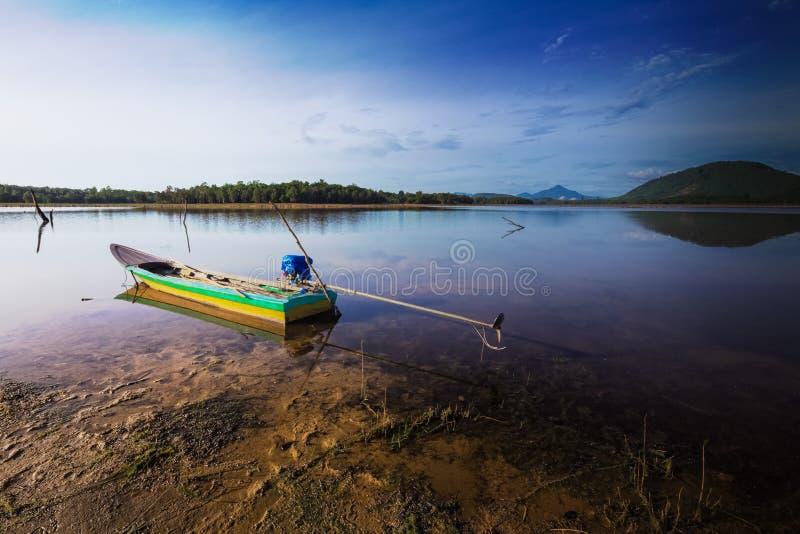 Το Sampan στοκ εικόνα