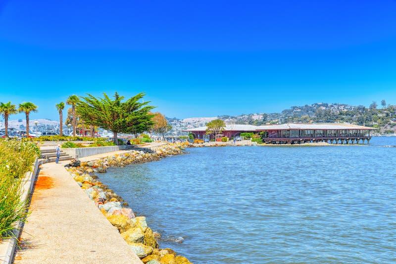 Το Sausalito είναι πόλη στη κομητεία του Marin, Καλιφόρνια στοκ εικόνα με δικαίωμα ελεύθερης χρήσης