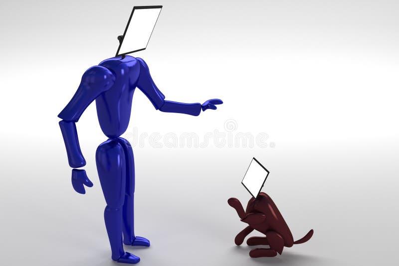 το screendog του screenhead στοκ φωτογραφία με δικαίωμα ελεύθερης χρήσης