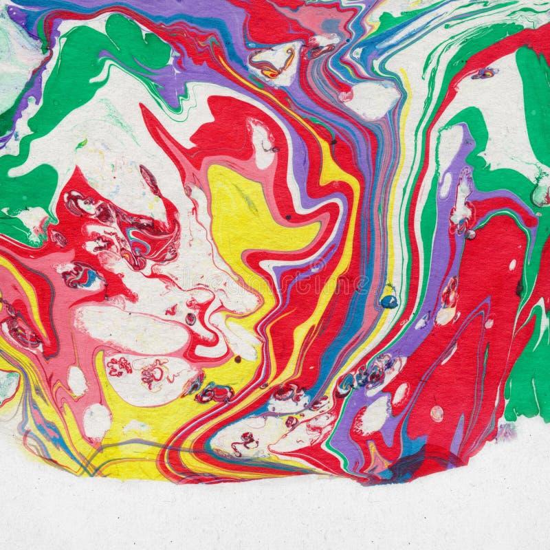 Το Shabby κομψό υπόβαθρο με το χρώμα διανυσματική απεικόνιση