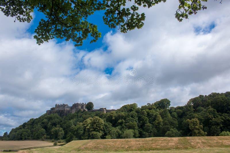 Το Stirling Castle είναι ένα από τα μεγαλύτερα και τα σημαντικότερα κάστρο στη Σκωτία Σκωτία Ηνωμένο Βασίλειο Ευρώπη στοκ φωτογραφία