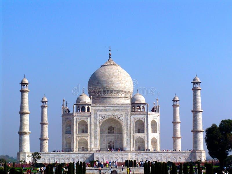 Το Taj Mahal, Agra στοκ φωτογραφία με δικαίωμα ελεύθερης χρήσης