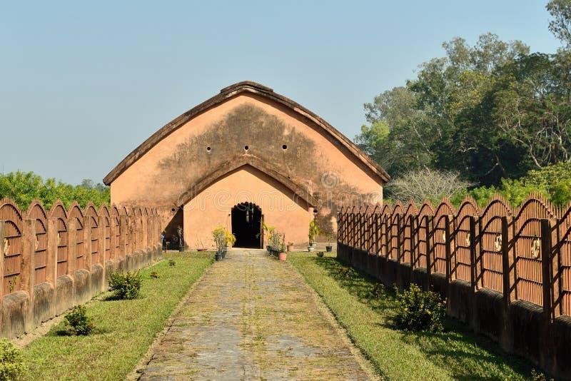 Το Talatal Ghar, Sivasagar, Assam Ινδία στοκ φωτογραφίες