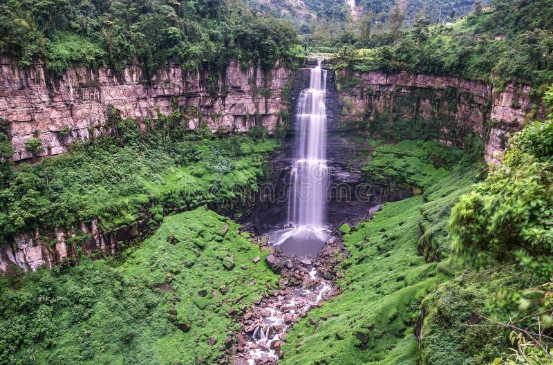 Το Tequendama πέφτει κοντά στη Μπογκοτά, Κολομβία στοκ φωτογραφία με δικαίωμα ελεύθερης χρήσης