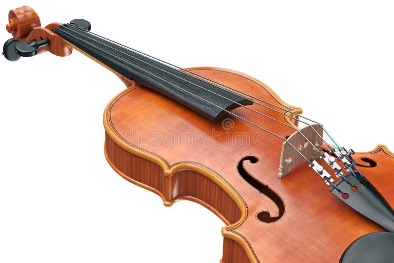 Το Viola ο εξοπλισμός, στενή άποψη διανυσματική απεικόνιση
