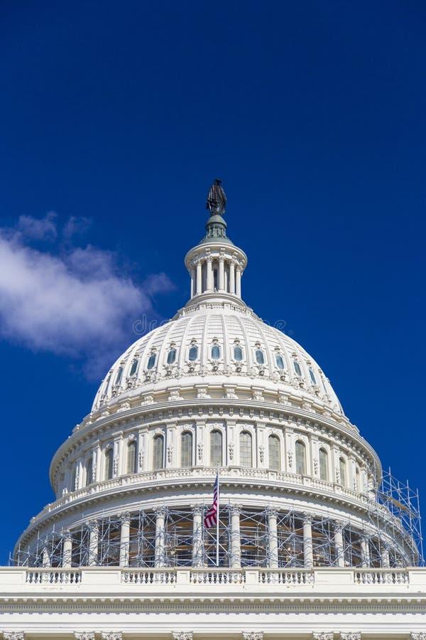 Το Washington DC, θόλος κτήριο κρατικού το εθνικό Capitol στοκ εικόνα