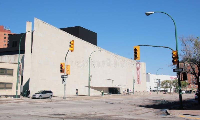 Το Winnipeg γκαλερί τέχνης στοκ φωτογραφία με δικαίωμα ελεύθερης χρήσης