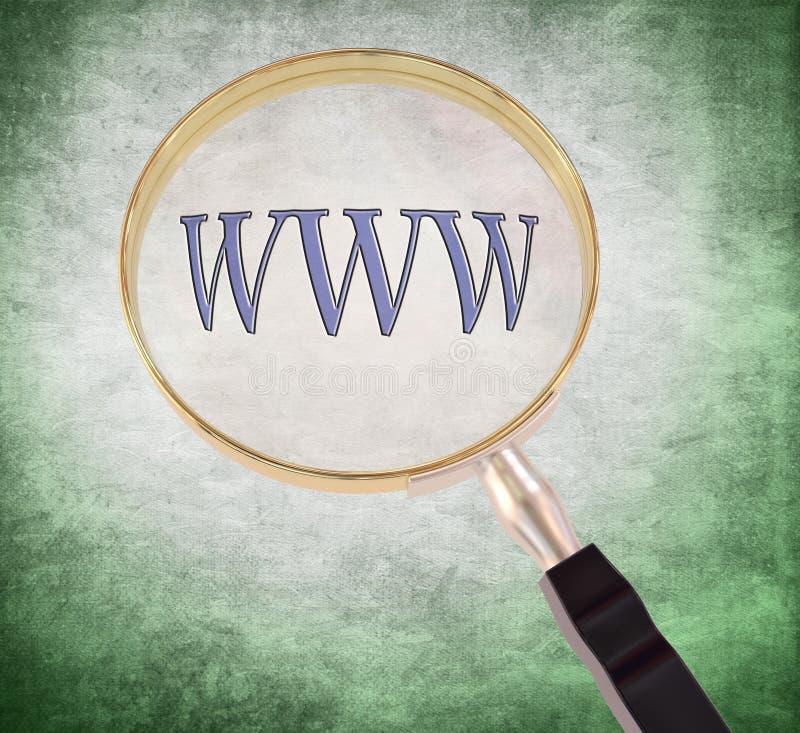 Το Www ενισχύει ελεύθερη απεικόνιση δικαιώματος
