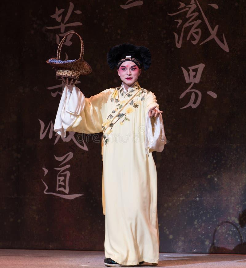 """Το Xu Xian αγοράζει το λαχανικό-δεύτερο πράξη-Kunqu Opera""""Madame άσπρο Snake† στοκ εικόνες με δικαίωμα ελεύθερης χρήσης"""