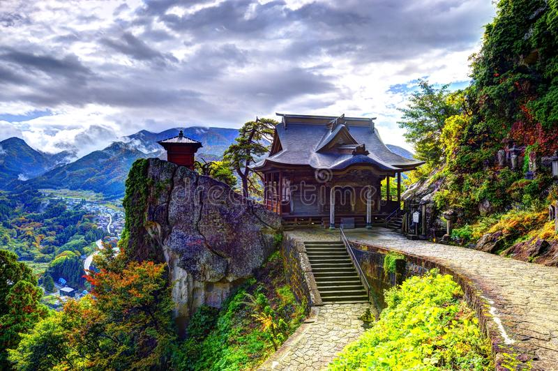 Ναός βουνών στοκ εικόνα με δικαίωμα ελεύθερης χρήσης