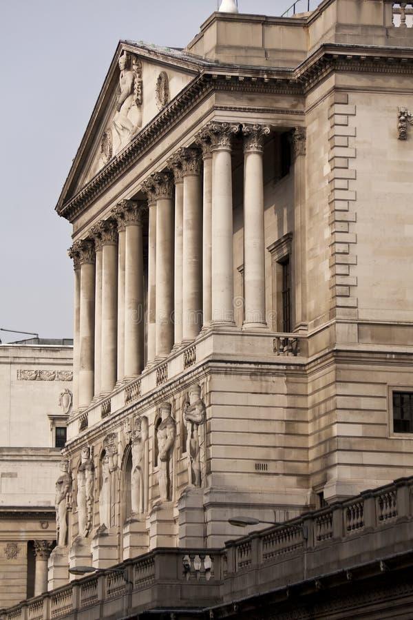 τράπεζα Αγγλία Λονδίνο UK στοκ εικόνες