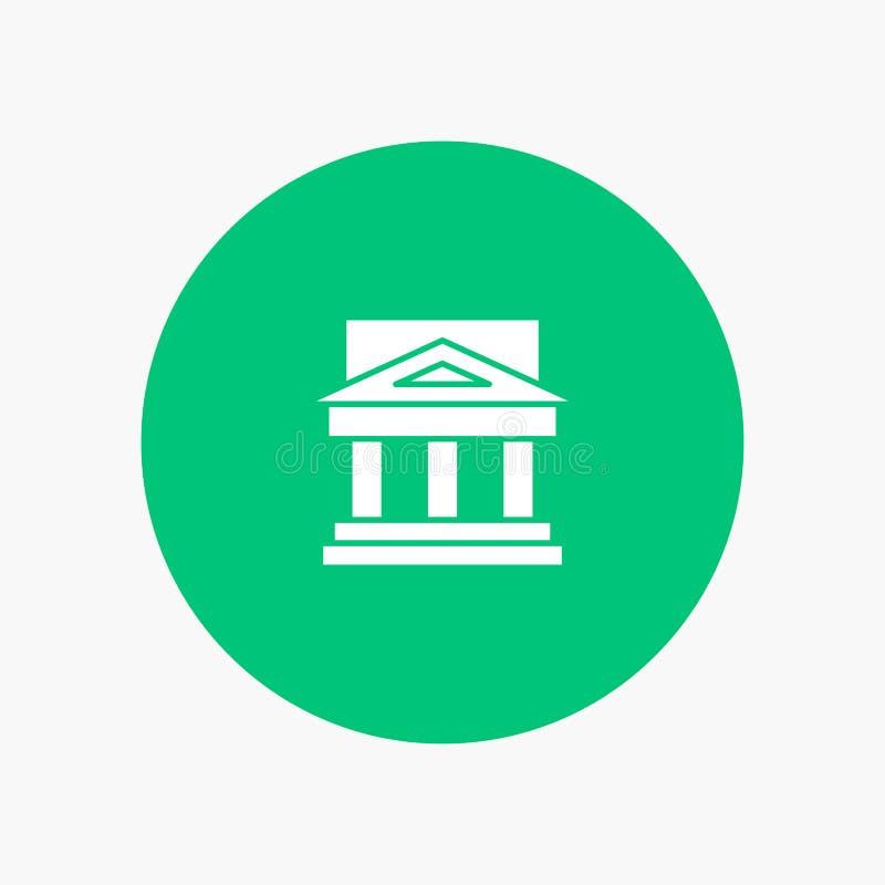 Τράπεζα, αρχιτεκτονική, κτήριο, δικαστήριο, κτήμα, κυβέρνηση, σπίτι, ιδιοκτησία διανυσματική απεικόνιση