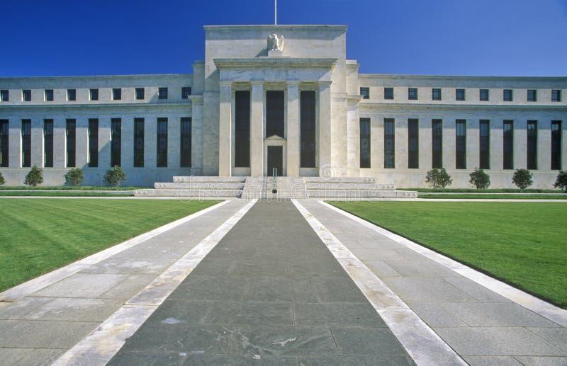 Τράπεζα Κεντρικής Τράπεζας των ΗΠΑ, Ουάσιγκτον, συνεχές ρεύμα στοκ φωτογραφίες με δικαίωμα ελεύθερης χρήσης