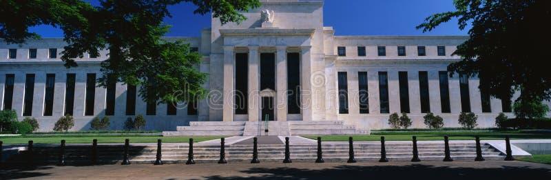 Τράπεζα Κεντρικής Τράπεζας των ΗΠΑ στοκ εικόνα