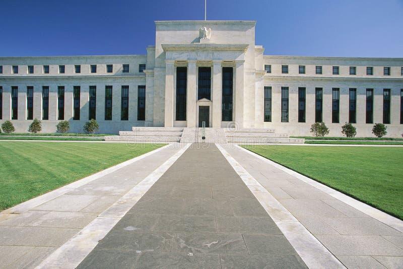Τράπεζα Κεντρικής Τράπεζας των ΗΠΑ στοκ εικόνες