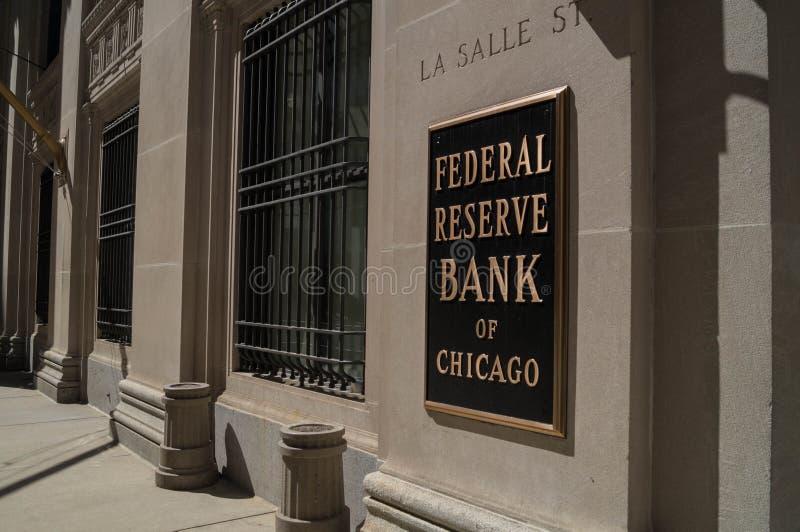 Τράπεζα Κεντρικής Τράπεζας των ΗΠΑ στοκ φωτογραφίες