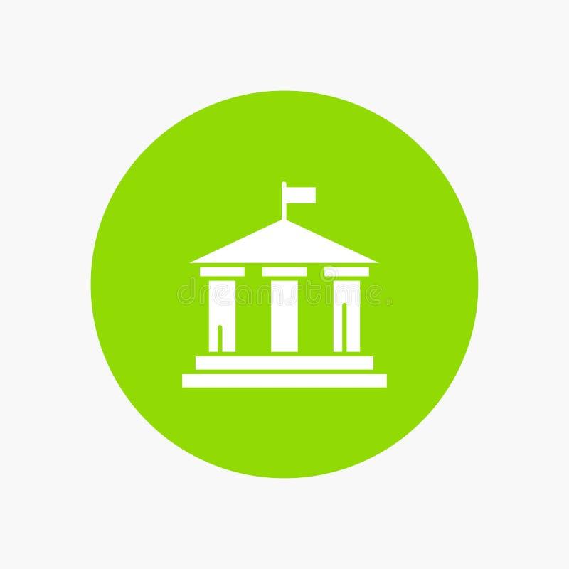 Τράπεζα, σημαία, αμερικανικά, ΗΠΑ απεικόνιση αποθεμάτων