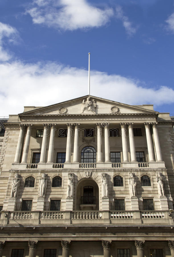 Τράπεζα της Αγγλίας στοκ φωτογραφία με δικαίωμα ελεύθερης χρήσης