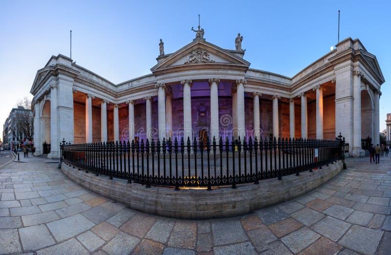 Τράπεζα της Ιρλανδίας Δουβλίνο στοκ εικόνα