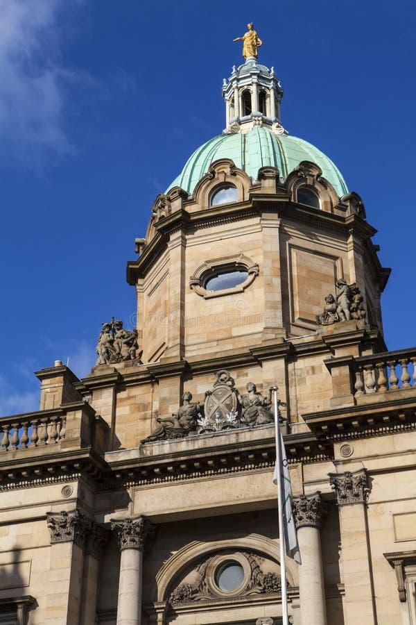 Τράπεζα της Σκωτίας στο Εδιμβούργο στοκ εικόνες