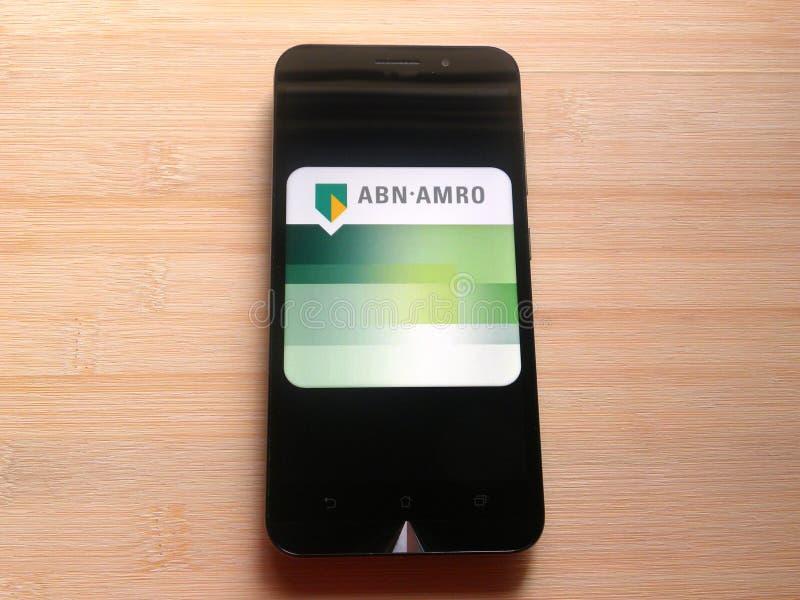 Τράπεζα της ABN AMRO στοκ φωτογραφία με δικαίωμα ελεύθερης χρήσης