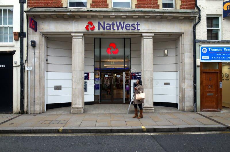 Τράπεζα της National Westminster στοκ φωτογραφίες με δικαίωμα ελεύθερης χρήσης