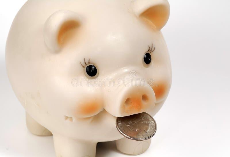 τράπεζα 2 piggy στοκ φωτογραφίες με δικαίωμα ελεύθερης χρήσης