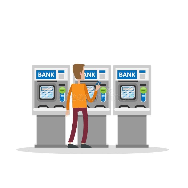 τράπεζα cdm Κίνα του ATM απεικόνιση αποθεμάτων