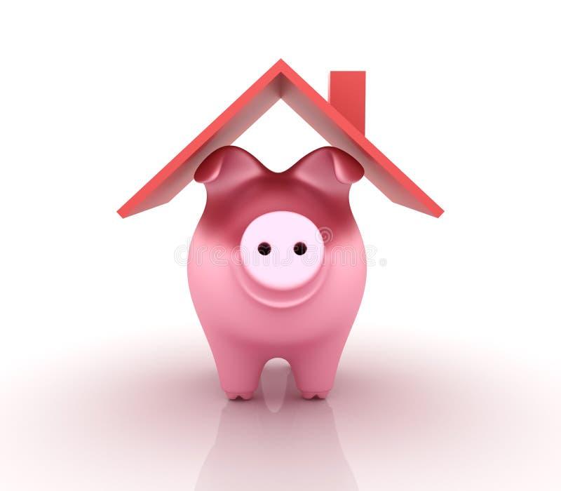 Τράπεζα Piggy ελεύθερη απεικόνιση δικαιώματος