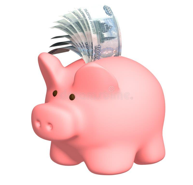 τράπεζα piggy διανυσματική απεικόνιση