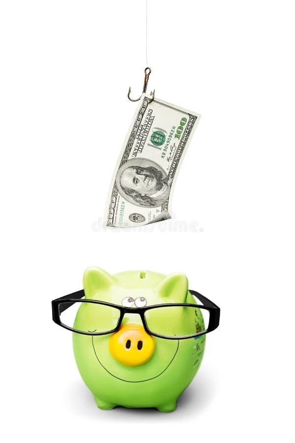 Τράπεζα Piggy στοκ εικόνες