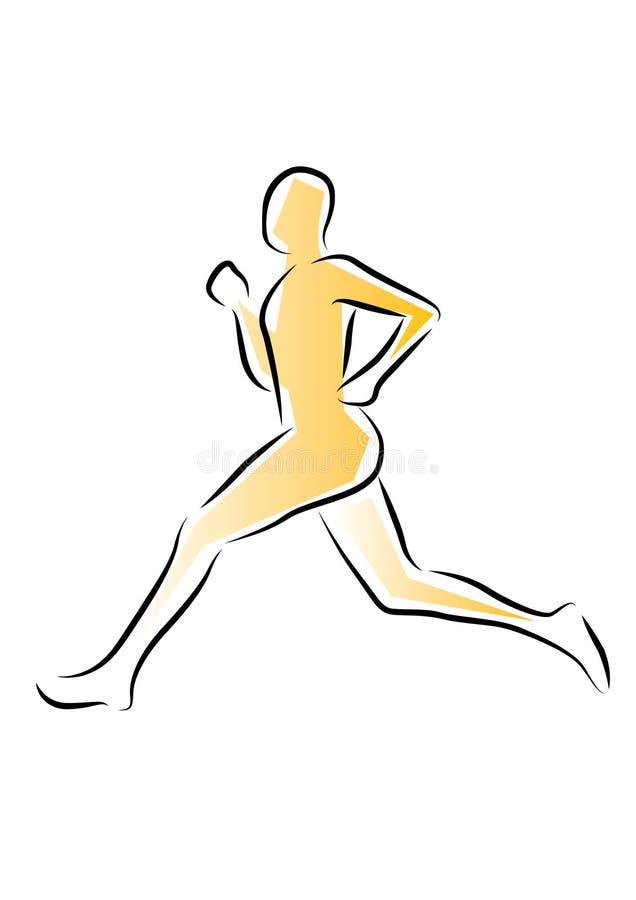 τρέξιμο αθλητών ελεύθερη απεικόνιση δικαιώματος