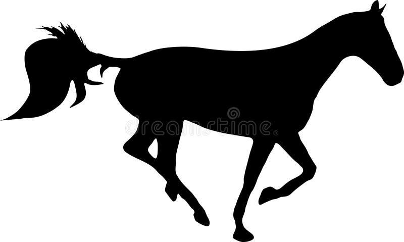 τρέξιμο αλόγων ελεύθερη απεικόνιση δικαιώματος