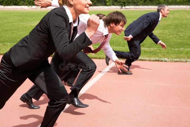τρέξιμο ανθρώπων στοκ εικόνα