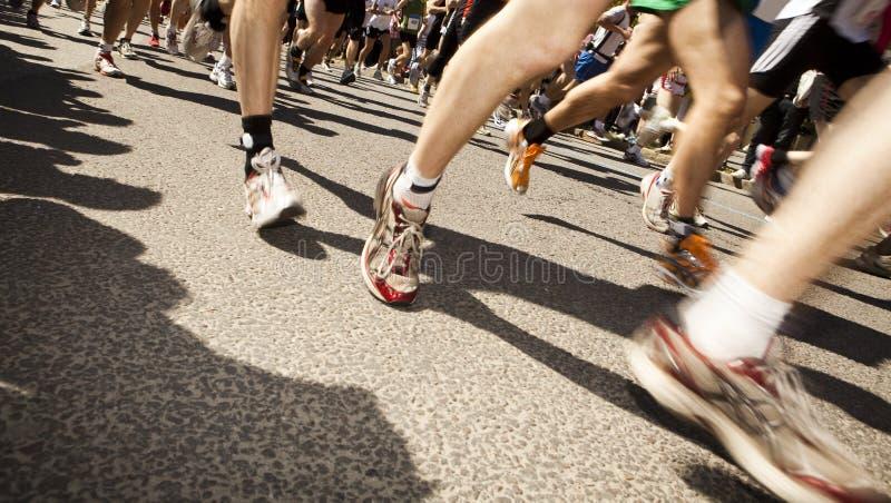 τρέξιμο ανθρώπων στοκ φωτογραφίες με δικαίωμα ελεύθερης χρήσης