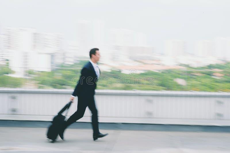 Τρέξιμο αργά για την πτήση στοκ φωτογραφίες με δικαίωμα ελεύθερης χρήσης