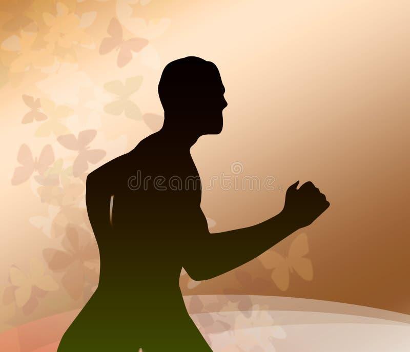 τρέξιμο ατόμων απεικόνιση αποθεμάτων