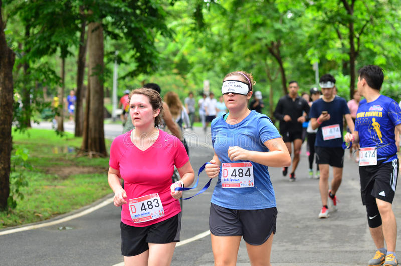 Τρέξιμο για τα τυφλά # 2 στοκ εικόνες