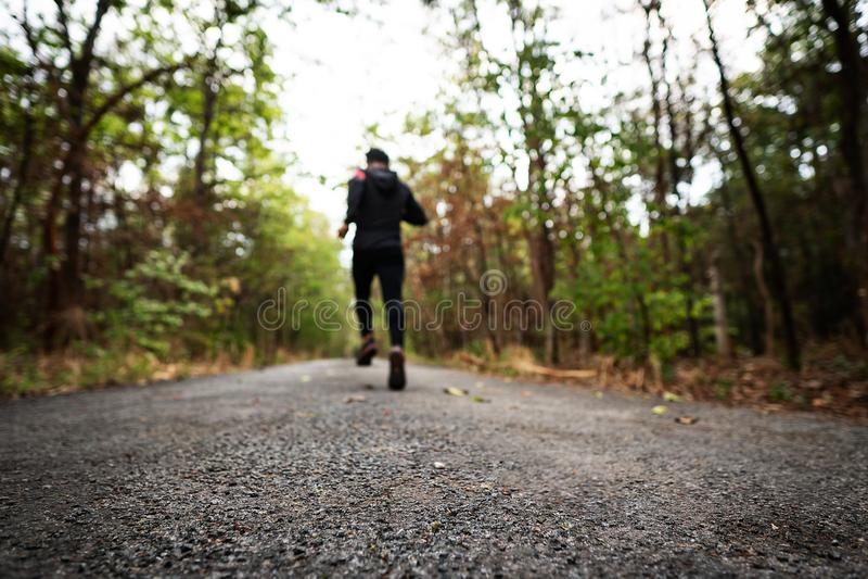 Τρέξιμο για την υγεία τους στοκ εικόνα με δικαίωμα ελεύθερης χρήσης