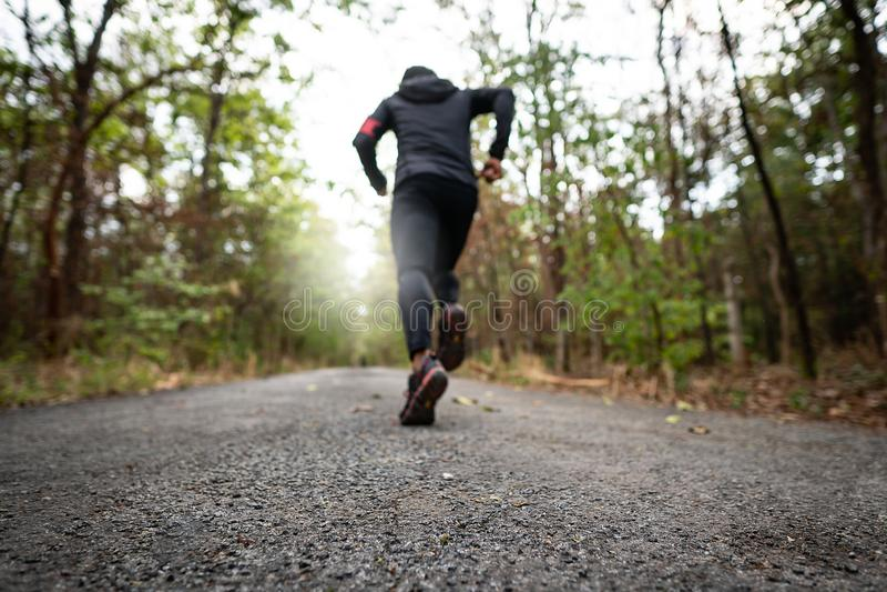 Τρέξιμο για την υγεία τους στοκ φωτογραφία με δικαίωμα ελεύθερης χρήσης