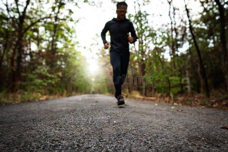 Τρέξιμο για την υγεία τους στοκ εικόνα