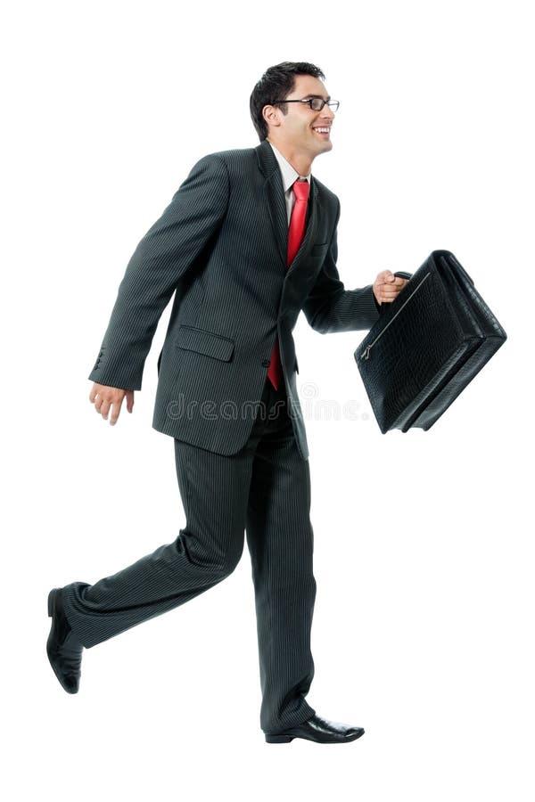 τρέξιμο επιχειρηματιών στοκ φωτογραφίες με δικαίωμα ελεύθερης χρήσης