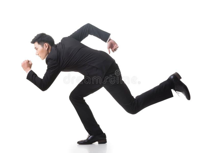 Τρέξιμο επιχειρησιακών ατόμων στοκ εικόνες