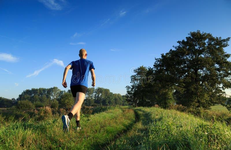 Τρέξιμο ιχνών! στοκ φωτογραφία