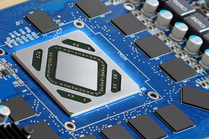 Τρέξιμο μικροεπεξεργαστών στοκ εικόνες με δικαίωμα ελεύθερης χρήσης