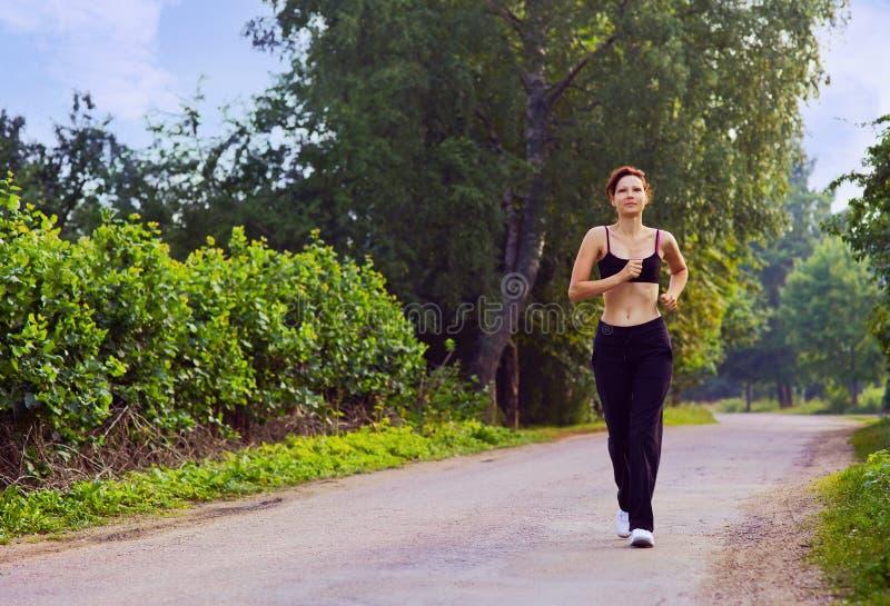 τρέξιμο πρωινού στοκ φωτογραφία με δικαίωμα ελεύθερης χρήσης