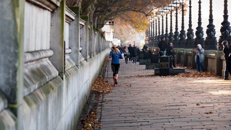Τρέξιμο πρωινού στοκ εικόνες