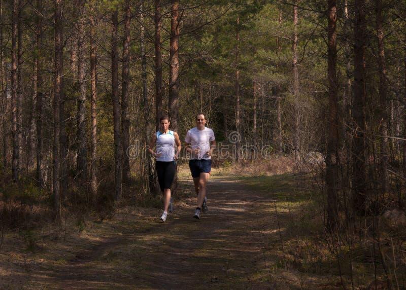 Τρέξιμο του ίχνους στοκ εικόνες