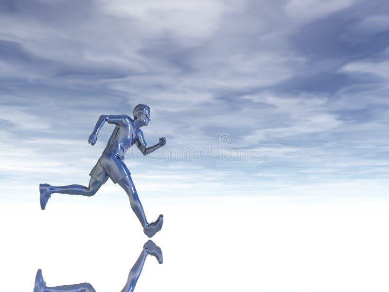 τρέξιμο ελεύθερη απεικόνιση δικαιώματος