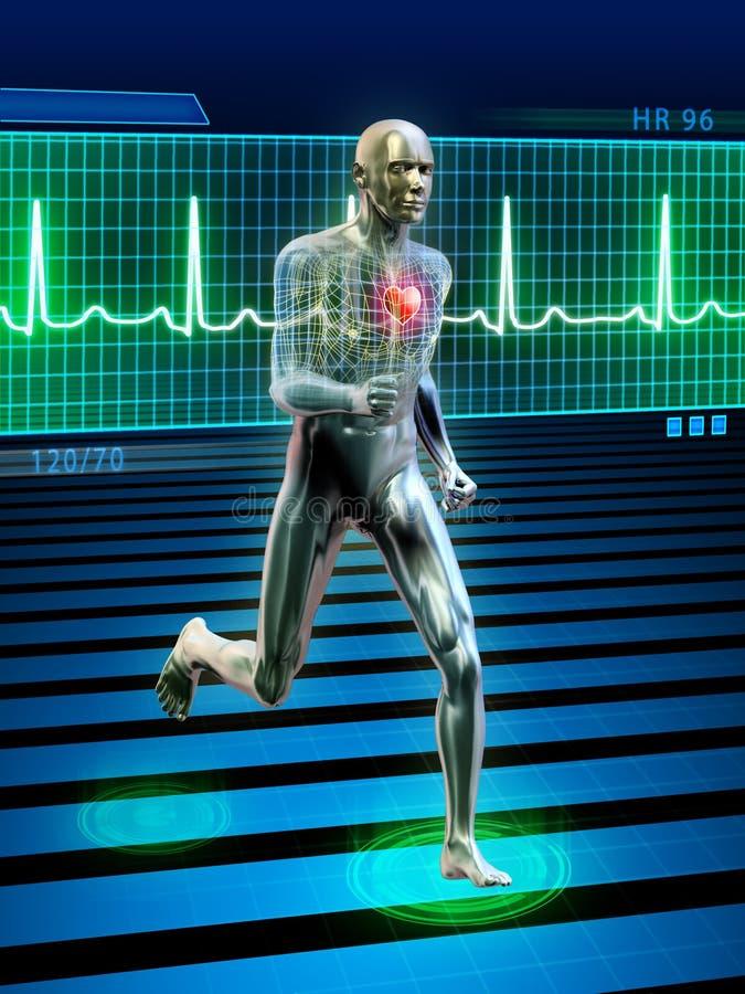 τρέξιμο απεικόνιση αποθεμάτων